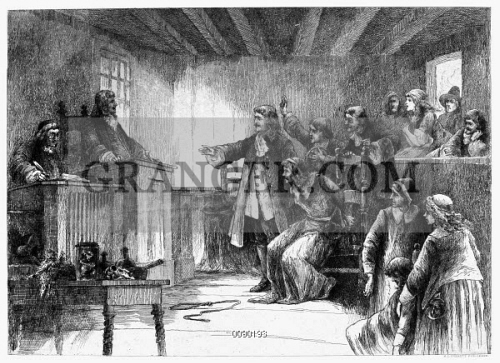 image of salem witch trials 1692 the trial of a witch at the