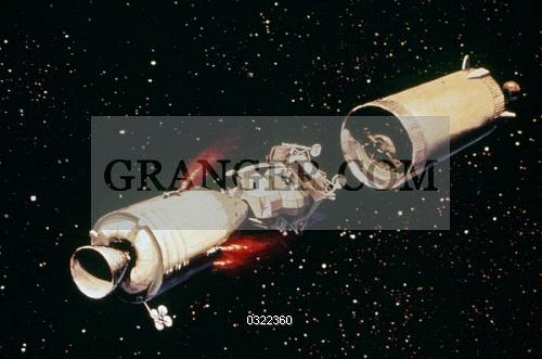 Image of APOLLO 11, 1969  - Conceptual Artwork Of The Saturn